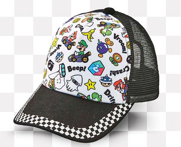任天堂世界馬力歐賽車帽