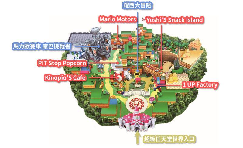 超級任天堂世界商店地圖