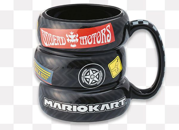 任天堂世界輪胎馬克杯