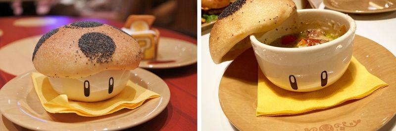奇諾比奧蘑菇番茄比薩杯