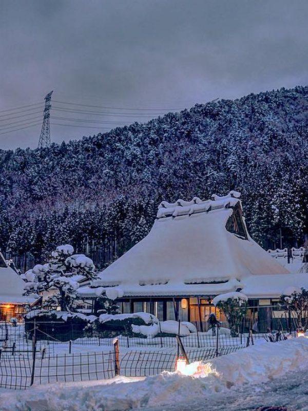 美山町合掌村雪燈廊